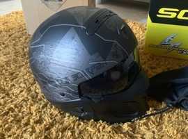 Motorbike helmet scorpion exo ratnik