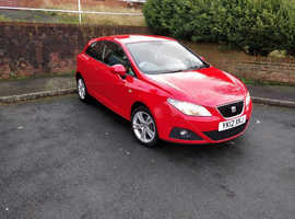 Seat Ibiza, 2012 (12) Red Hatchback, Manual Petrol, 43,000 miles