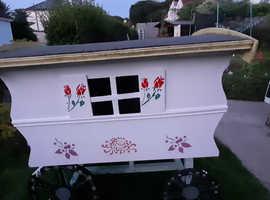 Wagon large dog kennel