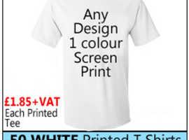 Professional Silk Screen Printed T-Shirt Online