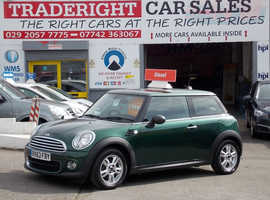 Mini MINI, 2013 (63) Green Hatchback, Manual Diesel, 67,792 miles