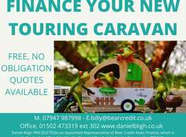 Finance Your New Caravan
