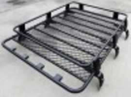 2.2m Steel Heavy Duty Large Roof Rack Platform Luggage Carrier Tray