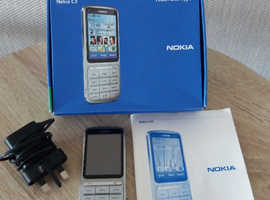 NOKIA C3 - 01 TOUCH AND TYPE PHONE