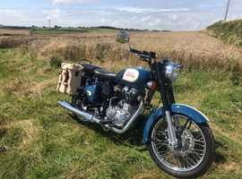 Beautiful Royal Enfield. As New very low mileage.