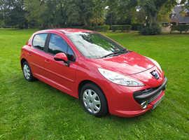 "Peugeot 207,  1.4 ""M-PLAY"" LIMITED EDITION 5 DOOR HATCHBACK"