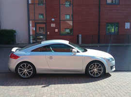 Audi TT, 2009 (09) Silver Coupe, Manual Diesel, 121,000 miles