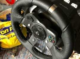 Logitech G920 Xbox one wheel