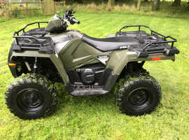 POLARIS SPORTSMAN 450 2016 4X4 VERY TIDY MAIN DEALER DIRECT PX QUAD CAN DELIVER SEE VIDEO