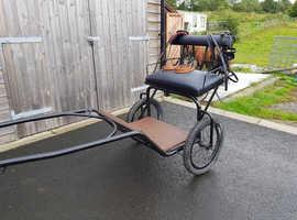 Shetland cart &harness