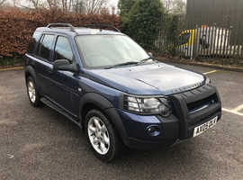 Land Rover Freelander, 2005 (05) Blue Estate, Manual Petrol, 124,689 miles