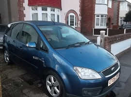 Ford Focus C-Max Ghia, 2.0 TDCi NON DPF 2005 (05) Blue MPV, 6 speed Manual Diesel, 141,000 miles