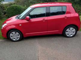 Suzuki Swift, 2010 (59) Red Hatchback, Manual Petrol, 90,460 miles