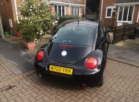 Volkswagen Beetle, 2000 (W) Black Hatchback, Manual Petrol, 107,250 miles