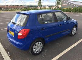 Skoda Fabia, 2007 (57) Blue Hatchback, Manual Petrol, 102,698 miles