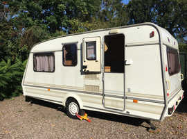 30th Anniversary Edition Elddis Shamal Xli 4 Berth Fantastic condition + Vango Awning ready to go!