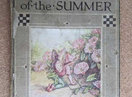 FLOWER FAIRIES OF THE SUMMER POEMS & PICTURES BY CICELY MARY BAKER 1928