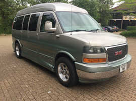GMC Savana, 2007 (56) green mpv, Automatic LPG, 85,000 miles