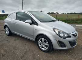 Vauxhall Corsa 1.2 Cdti Van, 43000miles, air con, not written, free delivery, No VAT