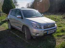 Toyota Rav4, 2009 (09) Silver Estate, Manual Petrol, 107,439 miles