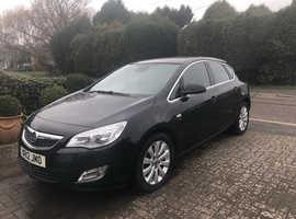 Vauxhall Astra, 2012 (12) Black Hatchback, Manual Diesel, 56,000 miles