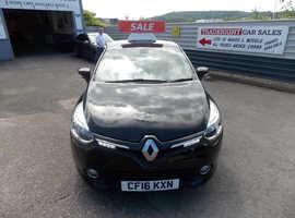 Renault Clio, 2016 (16) Black Hatchback, Manual Petrol, 36,660 miles