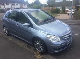 Mercedes B-CLASS, 2007 (57) Blue MPV, Cvt Diesel, 140,432 miles Lady Driver, Lether, MOT, New tyres