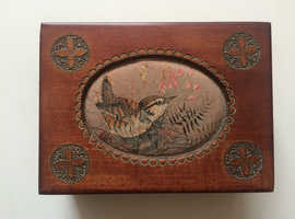 Beautiful Hand-Crafted wooden box - multiple uses