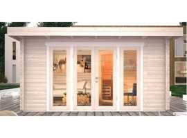 Deluxe Bournemouth Modern Log Cabin 4m x 3m