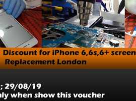 APPLE IPHONE 6/6S SCREEN £29.99 REPAIR -Limited Time Offer