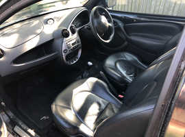 Ford Ka, 2005 (55) Black Hatchback, Manual Petrol, 87,209 miles