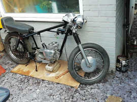 Old motorcycle British bsa triumph wanted any condition by enthusiast