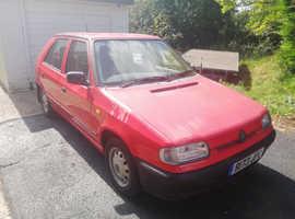 Skoda Felicia, 1997 (R) Red Hatchback, Manual Petrol, 134,953 miles