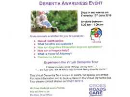 Crossroads Care Kent -Dementia Awareness Event