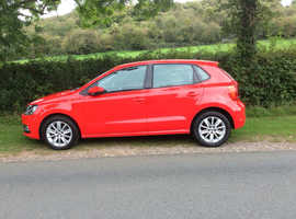 Volkswagen Polo, 2015 (15) red hatchback, Manual Petrol, 36172 miles