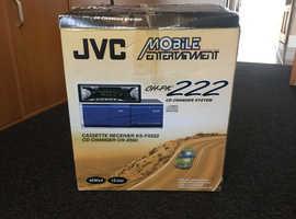 JVC Radio/Casette/CD Changer Bundle - Mint Condition