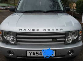 Land Rover Range Rover, 2004 (54) silver estate, Automatic Diesel, 102,000 miles