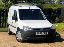 2007 (56) VAUXHALL COMBO 1.3 2000 CDTi  Manual 4 Dr VAN in WHITE Mileage Only 95,255 Miles LONG MOT 29th October 2019 Diesel Manual, NO VAT