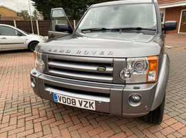 Land Rover Discovery, 2008 (08) grey estate, Automatic Diesel,  miles