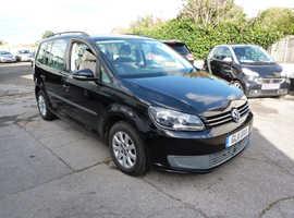 Volkswagen Touran, 2011 (11) Black MPV, Manual Diesel, 93,000 miles