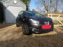Nissan Qashqai, 2011 (60) Black Hatchback, Manual Diesel, 103,700 miles