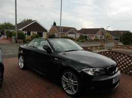 BMW 1 series, 2010 (10) Black Convertible, Automatic Petrol, 30,655 miles