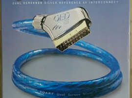 QED Sqart  scart to scart interconnect cable.