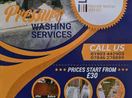 Worthing Pressure Washing Services