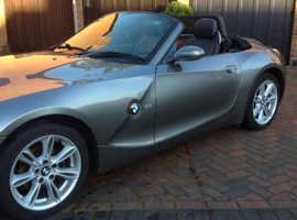 BMW Z SERIES, 2.2i SE 2004 (54) Grey Convertible, Manual Petrol, 88,000 miles