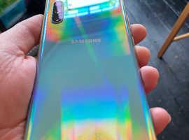 Galaxy note 10 plus 5G 256gb