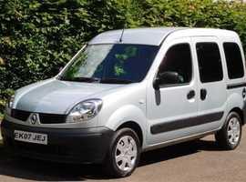 Renault Kangoo, 2007 (07) Grey MPV, Automatic Petrol, 30,700 miles