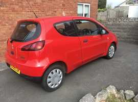 Mitsubishi Colt, 2009 (59) Red Hatchback, Manual Petrol, 79,391 miles