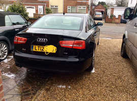 Audi A6, 2012 (12) Black Saloon, Manual Diesel, 85,000 miles