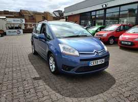 Citroen C4, 2009 (59) Blue MPV, Manual Diesel, 164,493 miles